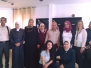A group of educational supervisors from the Ministry of Education accompanied with trainers from Netherlands visit the Friends of the Blind Association