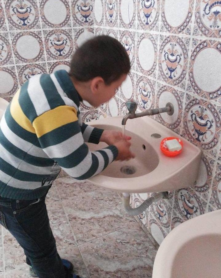 Using toilets