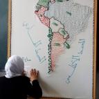 خرائط ذات الخط البارز
