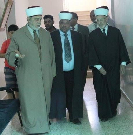 زيارة وزير الأوقاف الشيخ يوسف ادعيس لجمعية أصدقاء الكفيف