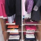 ترتيب الملابس